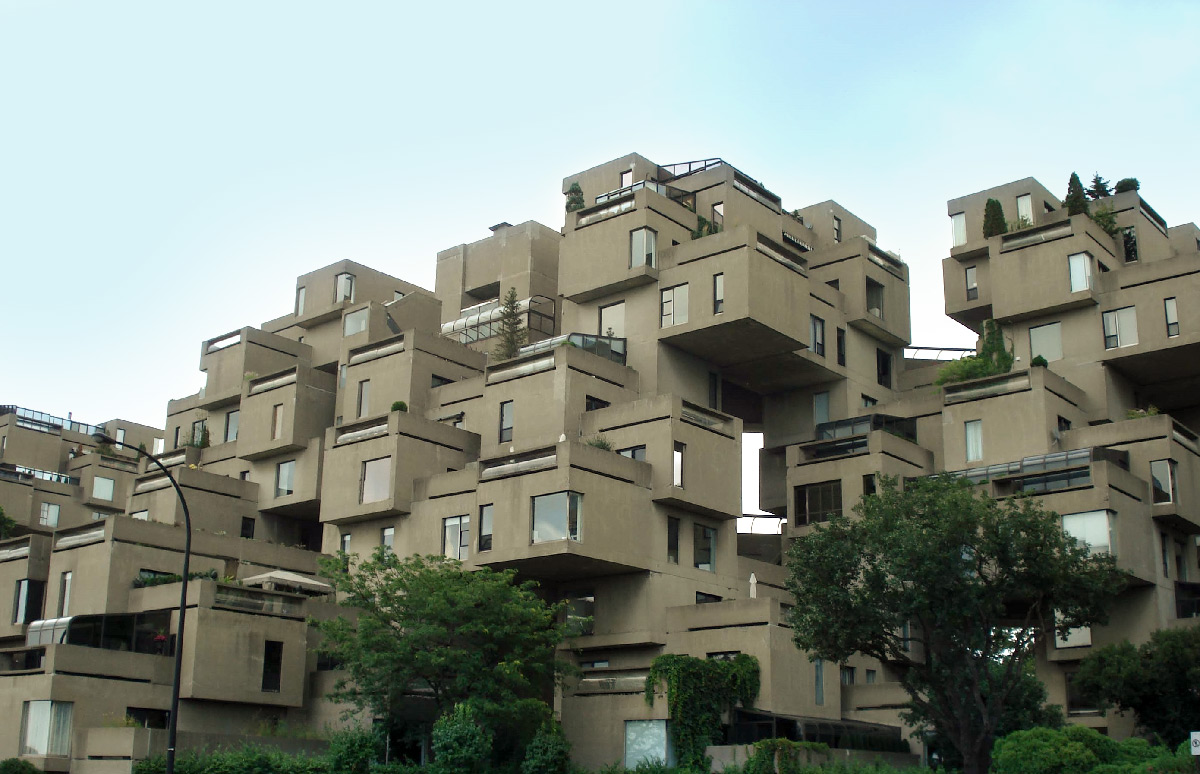 Homage habitat 67 for Habitat 67 architecture