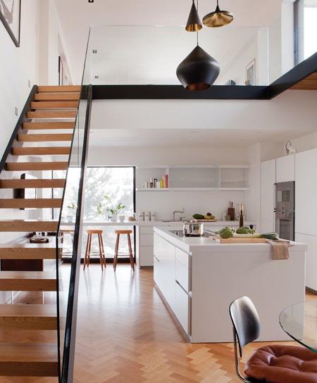 Kitchen Lighting Montreal: Habitat 67